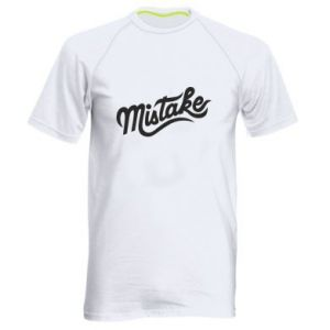 Męska koszulka sportowa Mistake