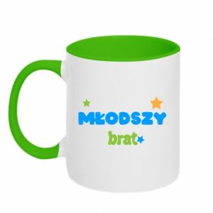 Two-toned mug Younger brother