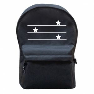 Backpack with front pocket My star