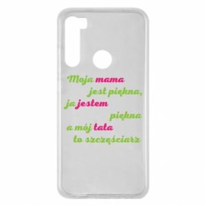 Xiaomi Redmi Note 8 Case My mother is beautiful
