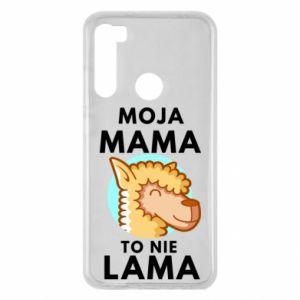 Etui na Xiaomi Redmi Note 8 Moja mama to nie lama