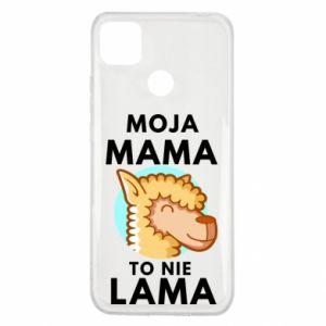Etui na Xiaomi Redmi 9c Moja mama to nie lama
