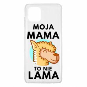 Etui na Samsung Note 10 Lite Moja mama to nie lama