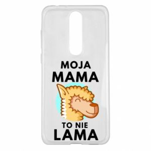 Etui na Nokia 5.1 Plus Moja mama to nie lama