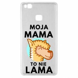 Etui na Huawei P9 Lite Moja mama to nie lama