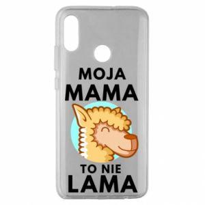 Etui na Huawei Honor 10 Lite Moja mama to nie lama