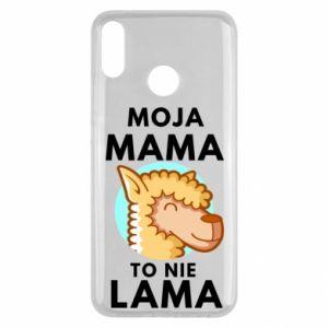 Etui na Huawei Y9 2019 Moja mama to nie lama