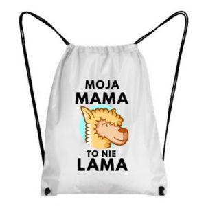 Plecak-worek Moja mama to nie lama