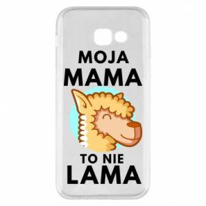 Etui na Samsung A5 2017 Moja mama to nie lama