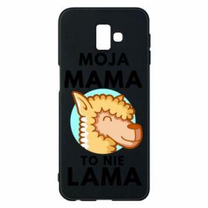 Etui na Samsung J6 Plus 2018 Moja mama to nie lama
