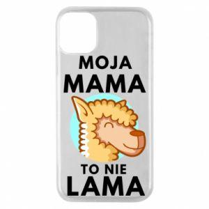 Etui na iPhone 11 Pro Moja mama to nie lama