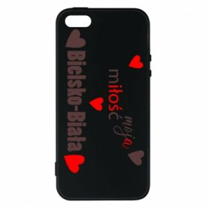 iPhone 5/5S/SE Case My love is Bielsko-Biala