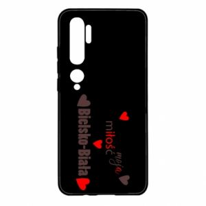 Xiaomi Mi Note 10 Case My love is Bielsko-Biala
