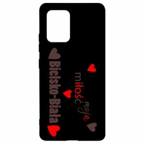 Samsung S10 Lite Case My love is Bielsko-Biala