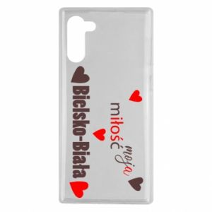 Samsung Note 10 Case My love is Bielsko-Biala