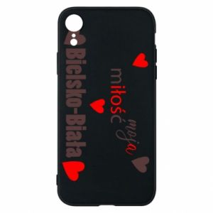 iPhone XR Case My love is Bielsko-Biala
