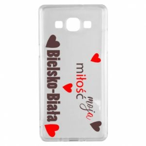 Samsung A5 2015 Case My love is Bielsko-Biala