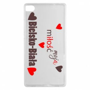Huawei P8 Case My love is Bielsko-Biala