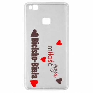 Huawei P9 Lite Case My love is Bielsko-Biala