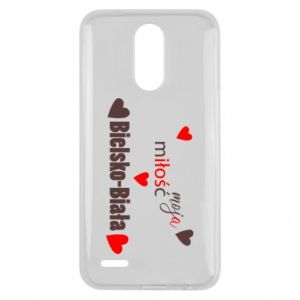 Lg K10 2017 Case My love is Bielsko-Biala
