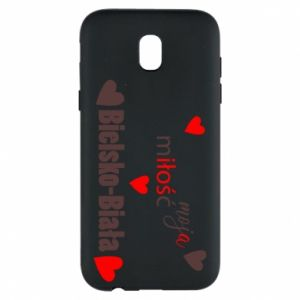 Samsung J5 2017 Case My love is Bielsko-Biala