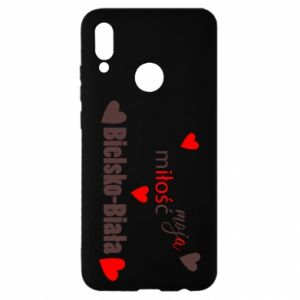Huawei P Smart 2019 Case My love is Bielsko-Biala