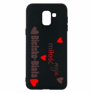 Samsung J6 Case My love is Bielsko-Biala