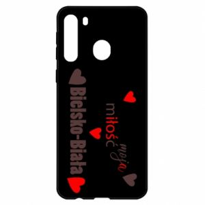 Samsung A21 Case My love is Bielsko-Biala