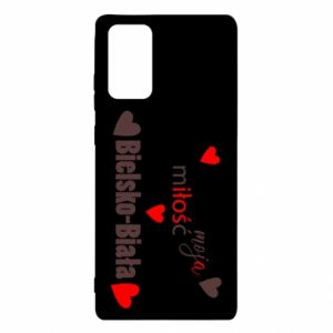 Samsung Note 20 Case My love is Bielsko-Biala