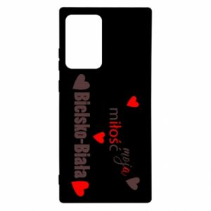 Samsung Note 20 Ultra Case My love is Bielsko-Biala