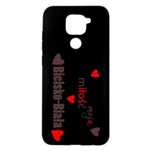 Xiaomi Redmi Note 9 / Redmi 10X case % print% My love is Bielsko-Biala