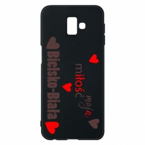 Samsung J6 Plus 2018 Case My love is Bielsko-Biala