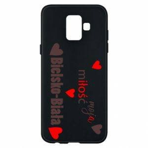 Samsung A6 2018 Case My love is Bielsko-Biala