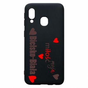 Samsung A40 Case My love is Bielsko-Biala