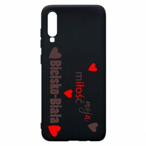 Samsung A70 Case My love is Bielsko-Biala