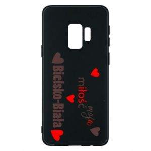 Samsung S9 Case My love is Bielsko-Biala