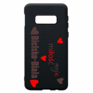 Samsung S10e Case My love is Bielsko-Biala
