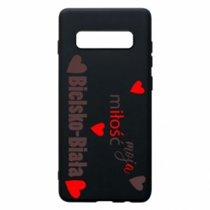 Samsung S10+ Case My love is Bielsko-Biala