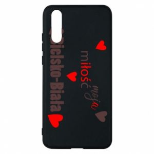 Huawei P20 Case My love is Bielsko-Biala