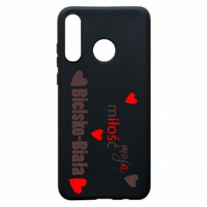 Huawei P30 Lite Case My love is Bielsko-Biala