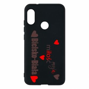 Mi A2 Lite Case My love is Bielsko-Biala