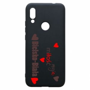 Xiaomi Redmi 7 Case My love is Bielsko-Biala