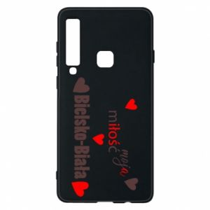Samsung A9 2018 Case My love is Bielsko-Biala