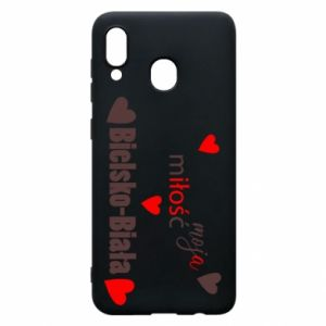 Samsung A20 Case My love is Bielsko-Biala