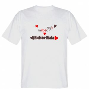 T-shirt My love is Bielsko-Biala