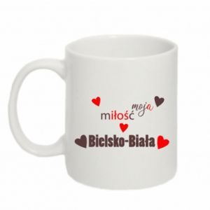 Mug 330ml My love is Bielsko-Biala