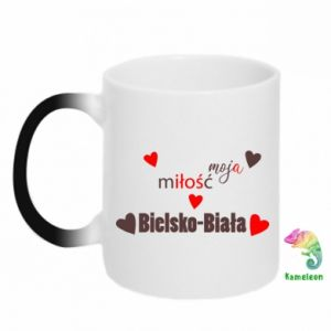Magic mugs My love is Bielsko-Biala
