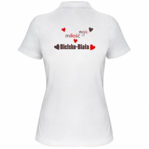 Women's Polo shirt My love is Bielsko-Biala