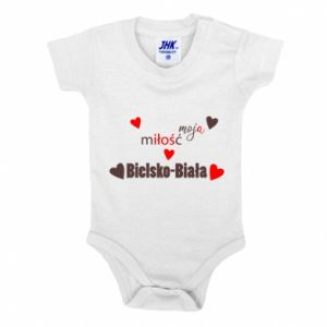 Baby bodysuit My love is Bielsko-Biala