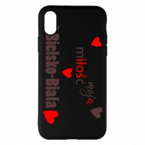 iPhone X/Xs Case My love is Bielsko-Biala